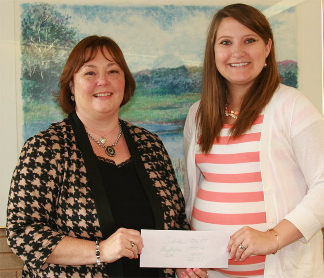 Family Donates Event Proceeds to MVH Regional Cancer Center photo